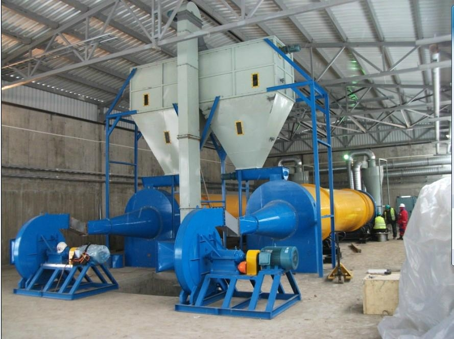 Biomass pellet production plant line project