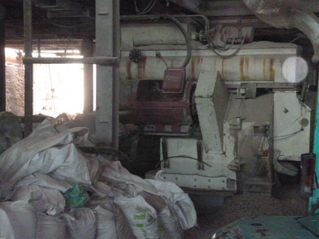 Pellet mill production line