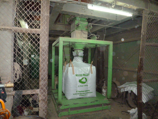 Wood pellet production plant project of tph in indonesia