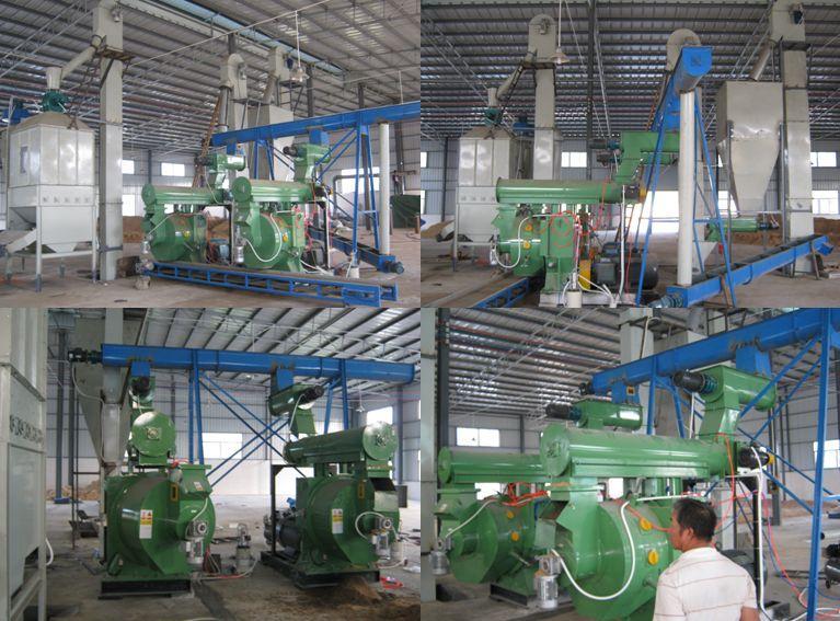 Enlarging the feedstock base for wood pellet production lines