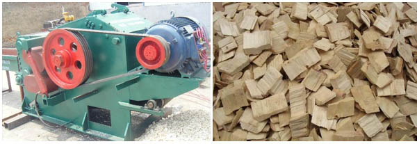 Drum Chipper for Pellet Mill
