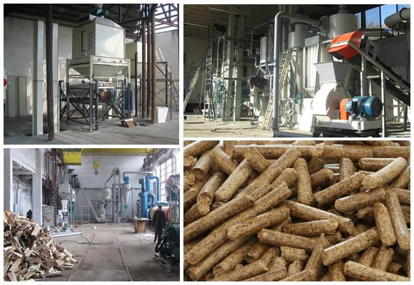 Prospect of wood pellets plant