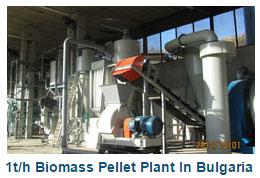1t/h Biomass Pellet Plant