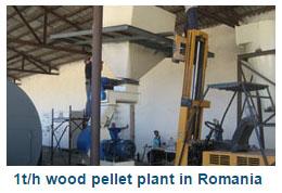 1t/h Wood Pellet Plant