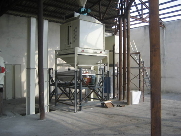 Packing Machine of Pellet Plant