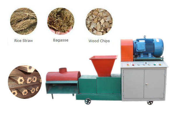 Wood Briquette Maker ~ Biomass briquette machine briquetting plant for sale