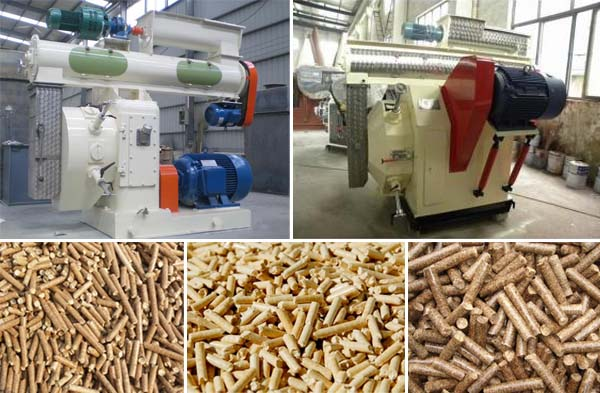 Structure of ring die biomass pellet mill