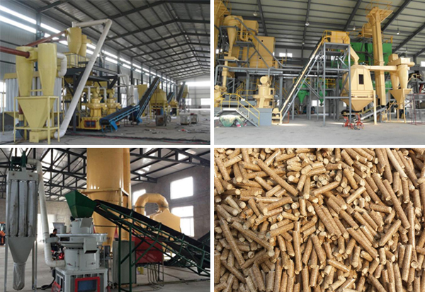 Quality of pellet fuel in plant